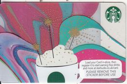 UK - Happy Birthday, Starbucks Card, CN : 6121, Unused - Gift Cards