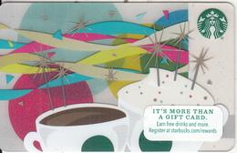 UK - Happy Birthday, Starbucks Card, CN : 6109, Unused - Gift Cards