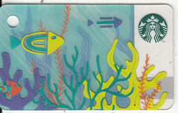 UK - Summer, Starbucks Mini Card, CN : 6151, Unused - Gift Cards