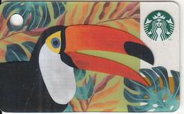 UK - Toucan, Starbucks Mini Card, CN : 6151, Unused - Gift Cards