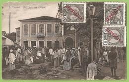 São Tomé E Princípe - Mercado Na Cidade - Costumes - Ethnique - Ethnic - Filatelia - Philately - Sao Tome And Principe