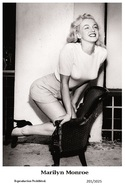 MARILYN MONROE - Film Star Pin Up PHOTO POSTCARD - 201-1025 Swiftsure Postcard - Postcards