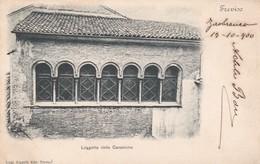 CARTOLINA - POSTCARD - TREVISO - LOGGETTA DELLE CANONICHE - Treviso
