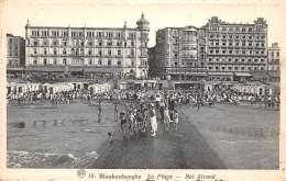 BLANKENBERGHE - La Plage - Het Strand - Blankenberge