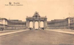 BRUXELLES - Arcades Et Musées Du Cinquantenaire - Monumenten, Gebouwen