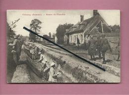 CPA  - Tilloloy  -(Somme) - Route De Flandre - Other Municipalities