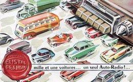 DOCUMENT COMMERCIAL PUBLICITE AUTO-RADIO GRANDIN *2 Cv *4 Cv *203 *Dyna *Versailles *Aronde *Frégate *Traction *Opel 325 - Cars