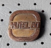 YUTEL 1980 Yugoslav Television Pin - Medias