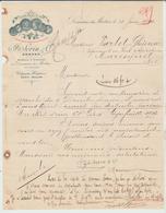CHARENTE: COGNAC DOMAINE DU MORTIER Fact. SORIN à Cognac De 1914, TTB - 1900 – 1949
