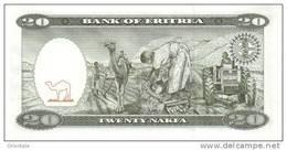 ERITREA P.  4 20 N 1997 UNC - Erythrée