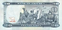 ERITREA P. 13 20 N 2012 UNC - Erythrée