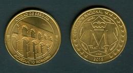 18/6 Espagne Espana 2015 Medaille Segovie Segovia Pont Bridge Aqueduc - Espagne