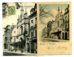 Bruxelles : église Des Carmes 3 Cartes - Monumenten, Gebouwen
