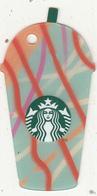 UK - Iced Frappuccino(green), Starbucks Mini Card, CN : 6151, Unused - Gift Cards