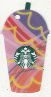 UK - Iced Frappuccino(red), Starbucks Mini Card, CN : 6151, Unused - Gift Cards