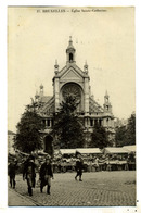 Bruxelles : église Ste Catherine - Monumenten, Gebouwen