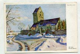 PAINTING / ART - AK 326266 Dorfkirche - Pittura & Quadri