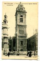 Bruxelles : église Ste Catherine. La Tour - Monumenten, Gebouwen
