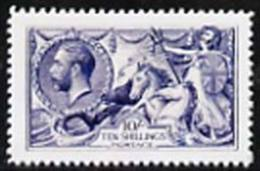48224 Great Britain KG5 1913-19 Seahorse 10s  'Maryland' Perf Forgery 'unused', As SG 402 - The Word Forgery Is Either - Cinderellas