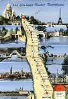 N7 - PARIS Montargis Nevers MOULINS - Nationale 7 - Les Grandes Routes Touristiques - Altri