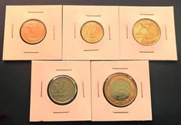 LSJP BRAZIL FIVE YEAR OLD COINS 2017 - COMPLETE SET - Brazil