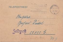 German Feldpost WW2: From A Later Receiver Of The Ritterkreuz Des Kriegsverdienstkreuzes In Gold Ohne Schwertern, One Of - 2. Weltkrieg