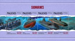Maldives 2018  S201805  Submarines - Maldives (1965-...)