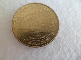 Monnaie De Paris 2007 - CITE DU TRAIN MULHOUSE 1933 Autorail Bugatti - Monnaie De Paris