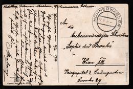 OSt. Hühnerwasser 27.X.16 Auf Feldpost-CAK An Kriegsspital 3,  - Austria
