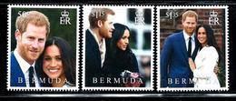 """Bermuda   """"Royal Wedding""""       ( New Issue May-21-2018 )    Set    MNH - Bermuda"""