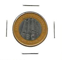 BRAZIL 1 REAL - 40 YEARS OF THE CENTRAL BANK COMMEMORATIVE COIN - 2005 - Brasil
