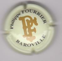 Capsule Champagne FOURRIER Etienne ( 4 ; Crème  Or Et Noir ) {S41-18} - Champagne