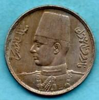 (r65)   EGYPT / EGYPTE  10 Milliemes : 1357 / 1938 - Egypt