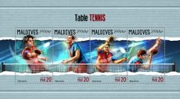 Maldives 2018  S201805   Table Tennis - Maldives (1965-...)