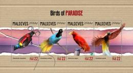 Maldives 2018  S201805   Bird Of Paradise - Maldives (1965-...)