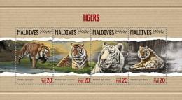 Maldives 2018  S201805  Tigers - Maldives (1965-...)