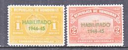 HONDURAS  342-3   *  (o) - Honduras