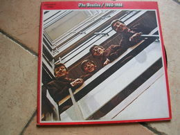 """33 Tours 30 Cm - THE BEATLES   - APPLE 162-05307/8  """" LOVE ME DO """" + 25 ( 2 DISQUES ) - Vinyl Records"""