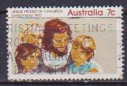 AUSTRALIA 1972 NATALE UNIF. 545 USATO VF - 1966-79 Elizabeth II