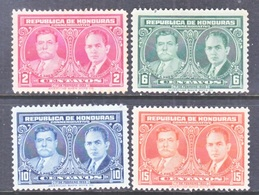 HONDURAS  318-21  No Gum    * - Honduras