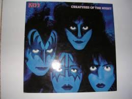 "33 Tours 30 Cm -  KISS   - CASABLANCA 6302219  "" CREATURES OF THE NIGHT "" + 8 - Vinyl Records"