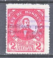 HONDURAS  284   (o) - Honduras