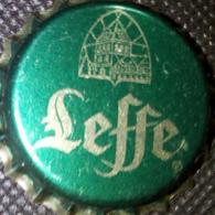 Leffe Bier Brauerei Kronkorken Belgien Belgium 2018 New Green Beer Bottle Crown Cap TOP Chapa De Cerveza, Capsule Biere - Beer