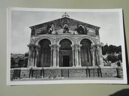 ISRAEL JERUSALEM CHURCH OF AGONY - Israel