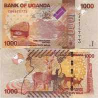 Uganda New  1000 Shilingi  2017  UNC - Uganda