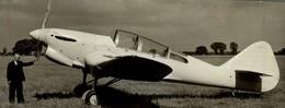 MILES KESTREL  15 * 6 CM Aviation, AIRPLAIN, AVION AIRCRAFT - Aviación