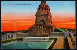 B4774 - Völkerschlachtdenkmal Denkmal - Leipzig - Louis Glaser - Offizielle Denkmal Karte - Monuments
