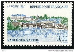 N° 3107  Année 1997  Sablé-sur-Sarthe  Faciale 3,00 Francs - France