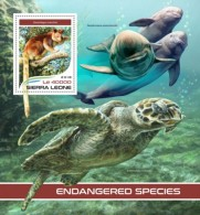 Sierra Leone 2018  S201805  Endangered Species - Sierra Leone (1961-...)