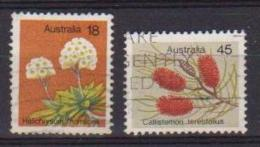 AUSTRALIA 1975 FIORI UNIF. 627-628 USATA VF - 1966-79 Elizabeth II
